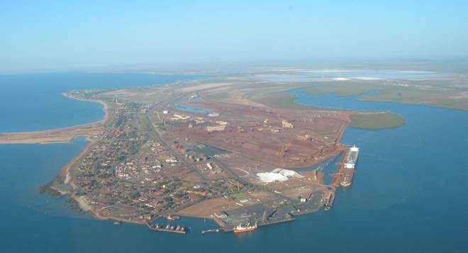 port hedland in the pilbara