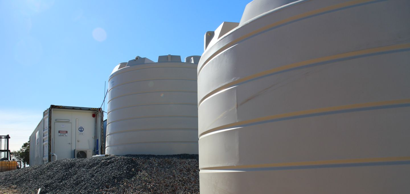 demineralised water tanks perth