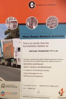 wa main roads accreditation