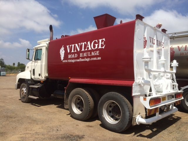 new water cartage truck for vintage road haulage in perth