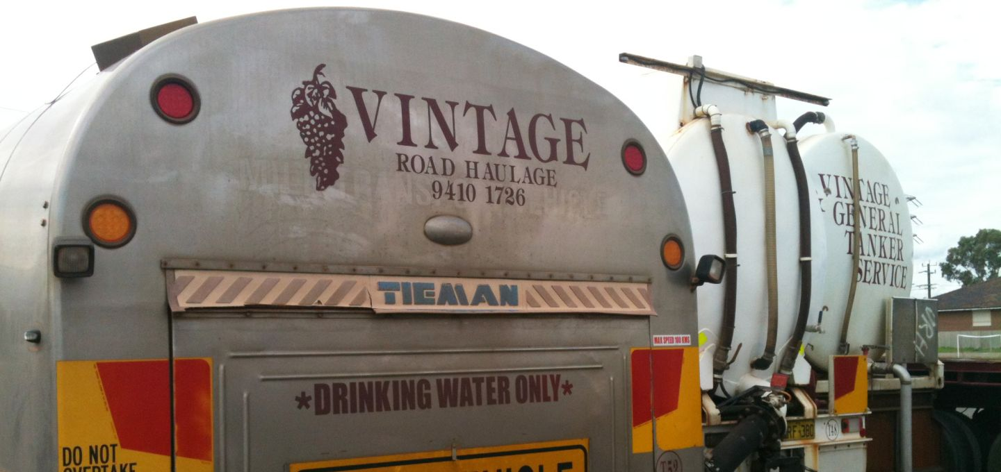 potable water tanker perth